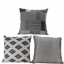 wholesale Cushions & Blankets: Pillows Brahma 3 motives, cover: 100% coton , fü